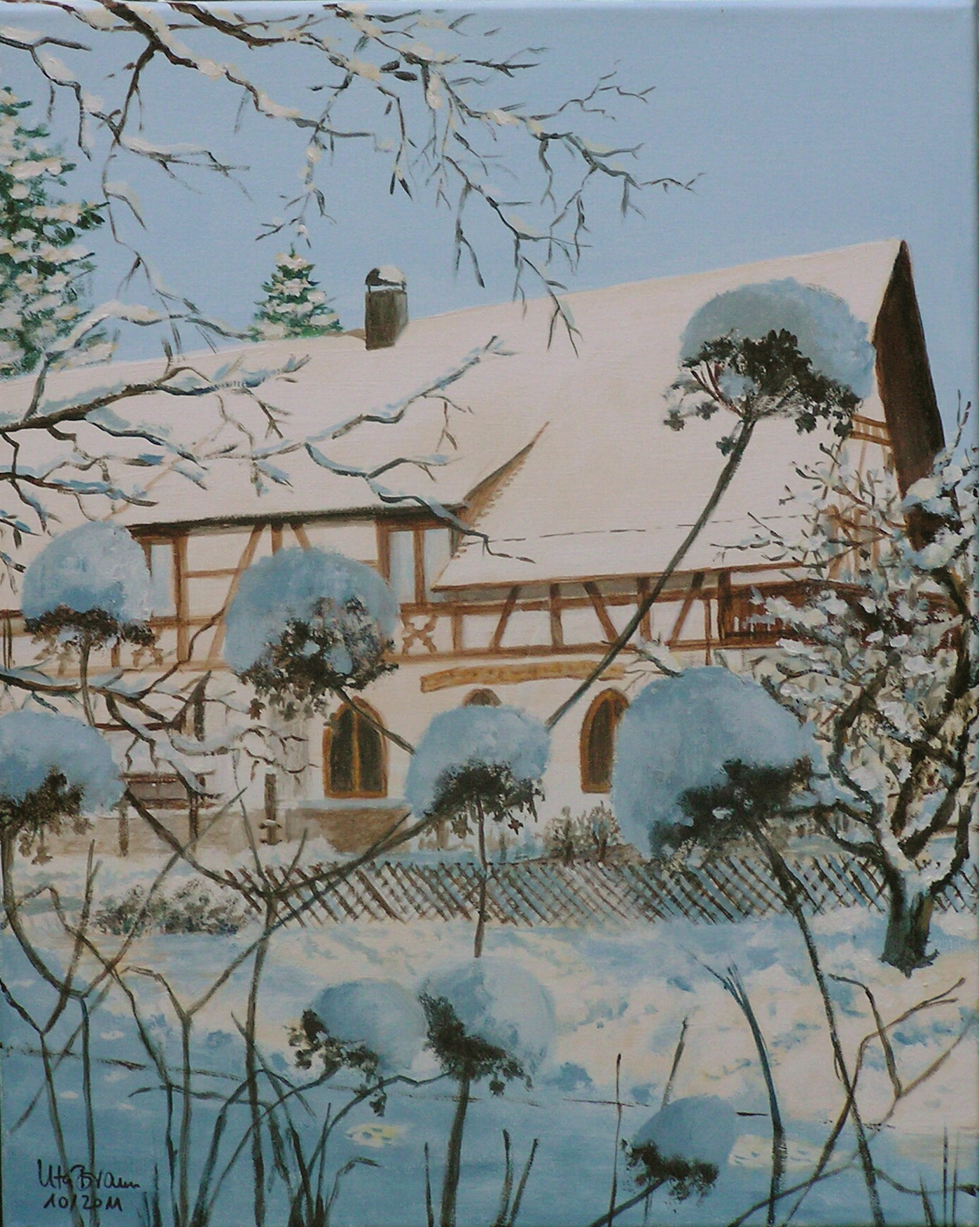 Swinging Winter (40 x 50)