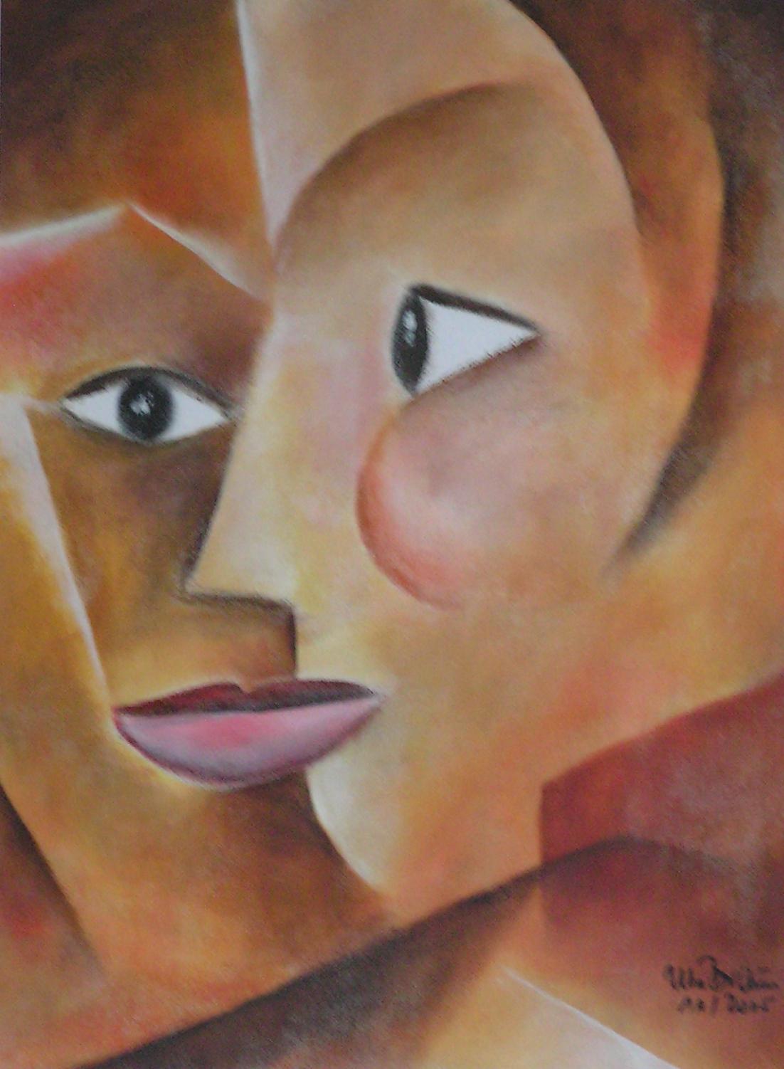 Wissen und Gewissen (40 x 50)
