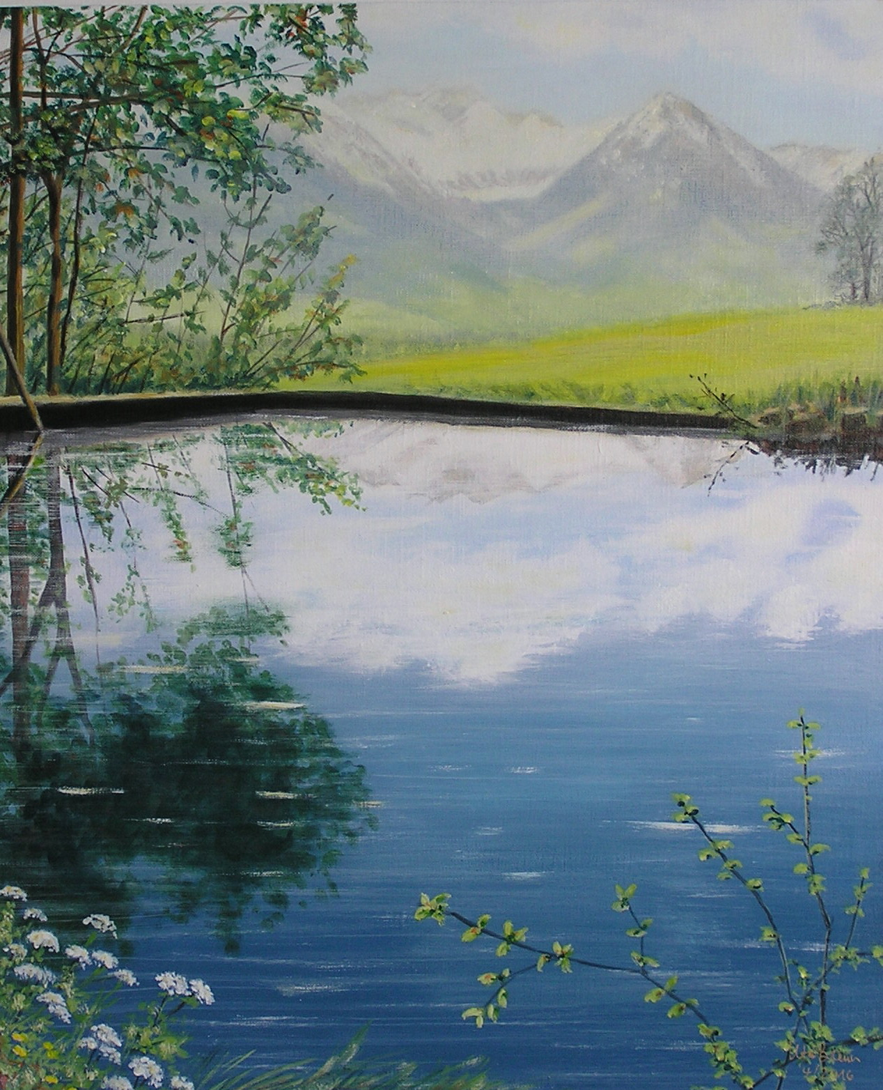 Sommeranfang (50 x 60)