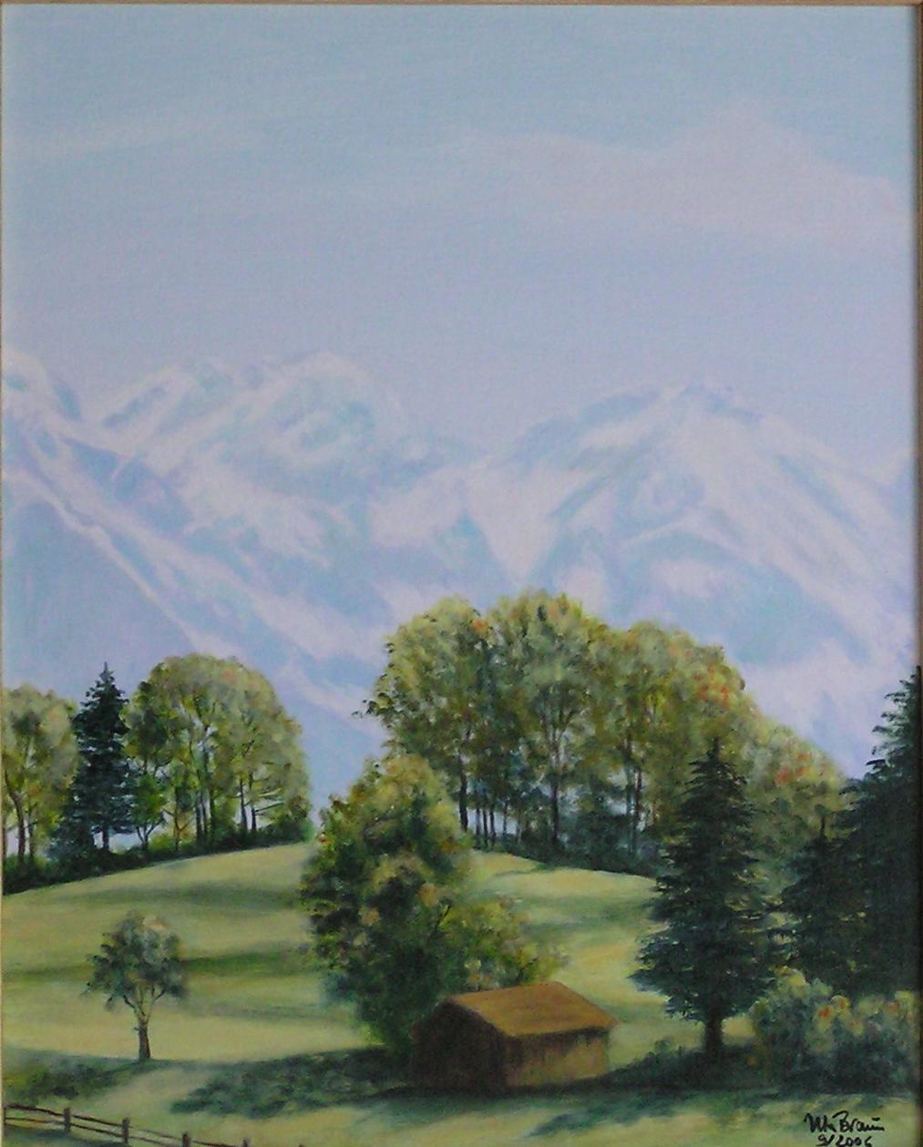Allgäu-Impression (40 x 50)