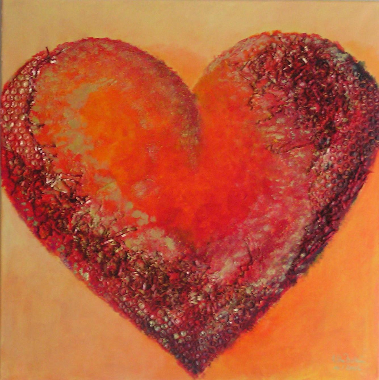 Herz für Ulrike (60 x 60)
