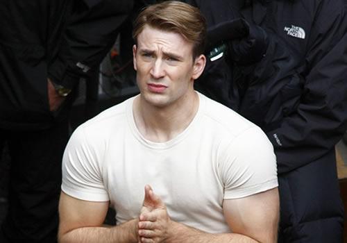 captain america fisico