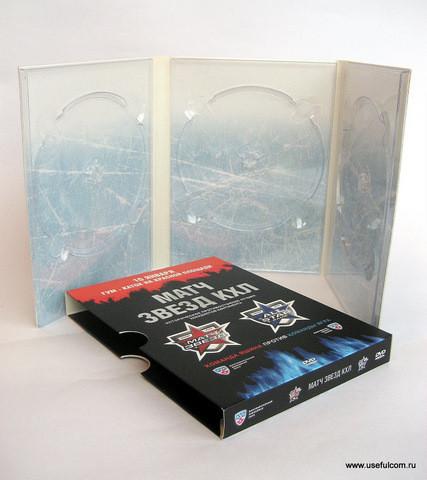 № 134 – Диджипак (DigiPak) DVD формата + SlipCase