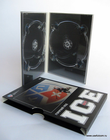 № 131 – Диджипак (DigiPak) DVD формата + SlipCase