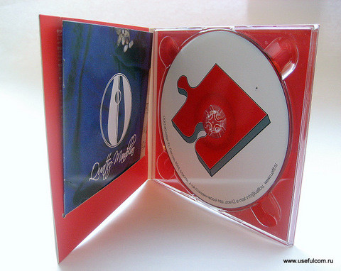 № 18 – Диджипак (DigiPak) CD формата