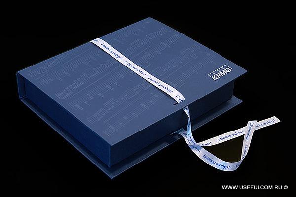 № 268 - Медиа-бокс (MediaBox): кашированная коробка конструкция «книжка» под DVD DigiPack + СлипКейс.