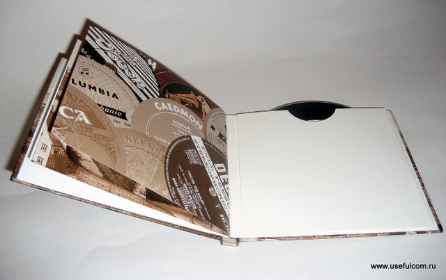 № 34 - Диджибук (DigiBook) СD формата