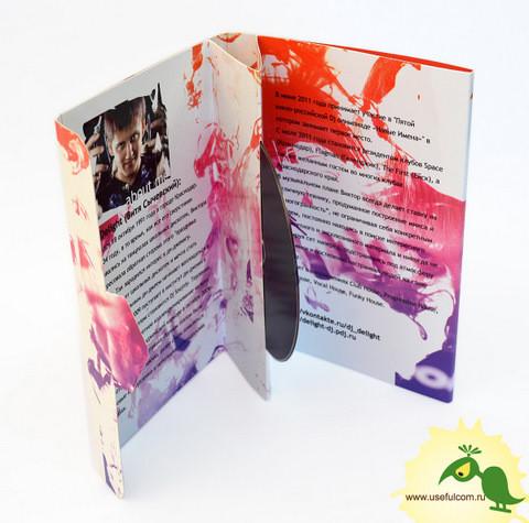 № 229 – Оригинальная упаковка DVD формата под 1 диск