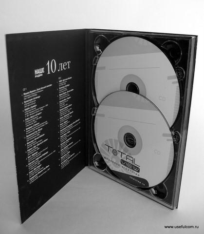 № 133 – Диджипак (DigiPak) DVD формата