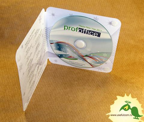 № 238 – Однослойный Диджипак (DigiPak) CD формата