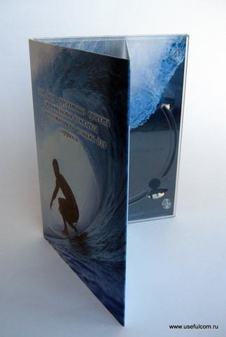№ 136 – Диджипак (DigiPak) DVD формата
