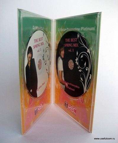 № 130 – Диджипак (DigiPak) DVD формата