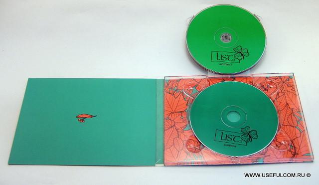 № 258 – Диджипак (DigiPak) DVD формата
