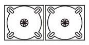 DigiPack CD формата: 4 полосы 2 трея
