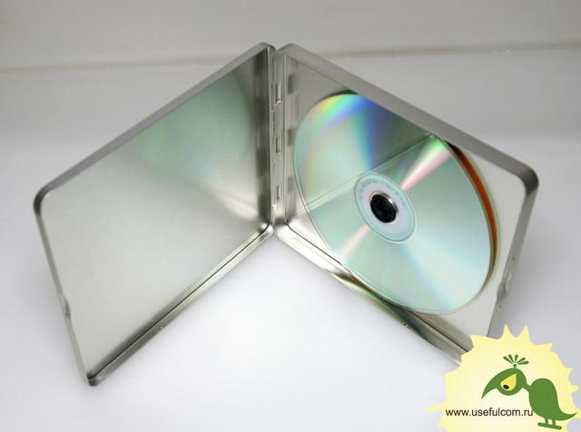№ 221 - Тин-бокс (TinBox) квадратный CD формата