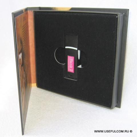 № 115 – Медиа-бокс (MediaBox) CD формата (под USB токен)