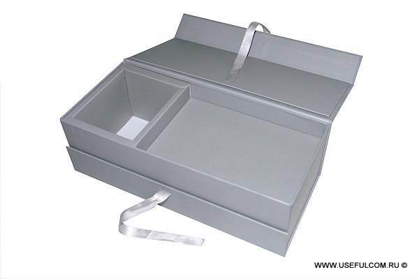 № 121 - Кашированная коробка, конструкция «книжка»