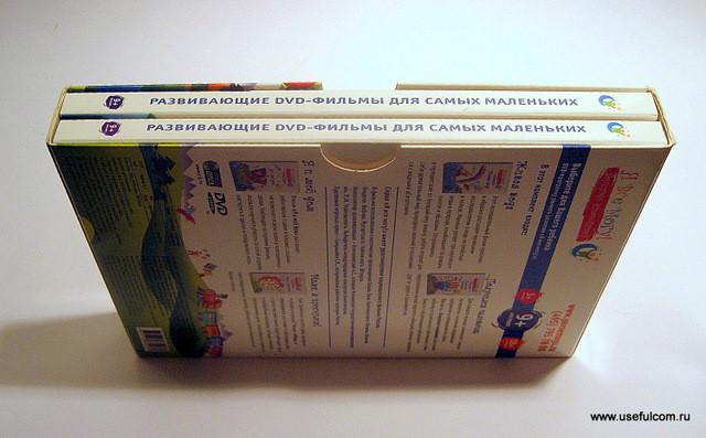 № 132 – Комплект: 2 Дижипак (DigiPak) DVD формата +  общий SlipCase