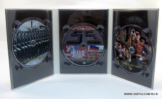 № 259 – Диджипак (DigiPak) DVD формата