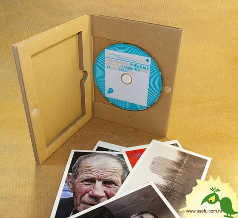 № 220 – Гофропак в виде Диджипак (DigiPak) DVD формата