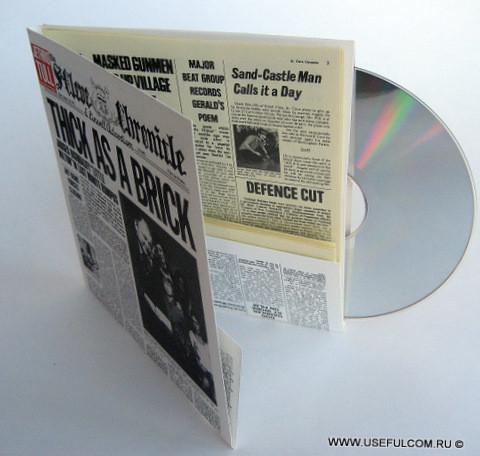 № 08 – Диджислив CD формата
