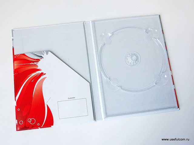 № 141 - Хардбэк (Hardback) DVD формата
