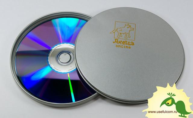 № 222 – Тин-бокс (TinBox) круглый CD формата
