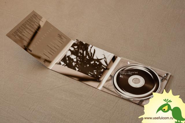№ 233 - Диджипак (DigiPak) CD формата