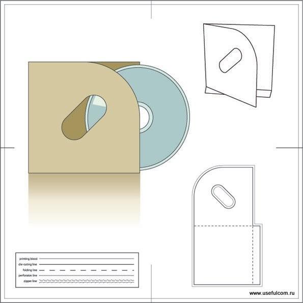 № 12 – Конверт (sleeves) картонный