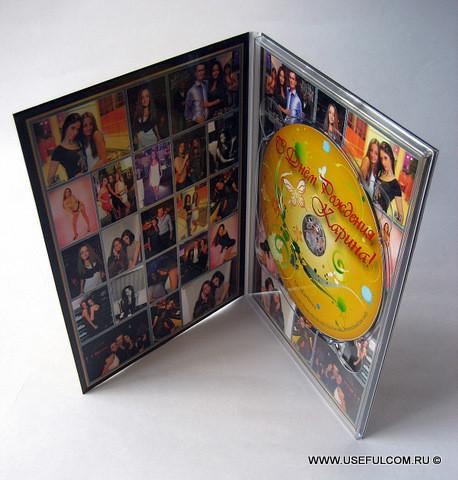 № 40 – Диджипак (DigiPak) DVD формата
