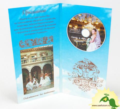 № 239 – Однослойный Диджипак (DigiPak) DVD формата