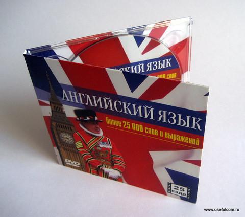 № 19 – Диджипак (DigiPak) CD формата
