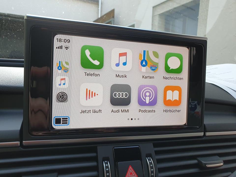 Apple CarPlay Audi A6 4G