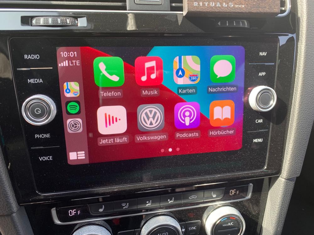 Apple CarPlay Golf 7