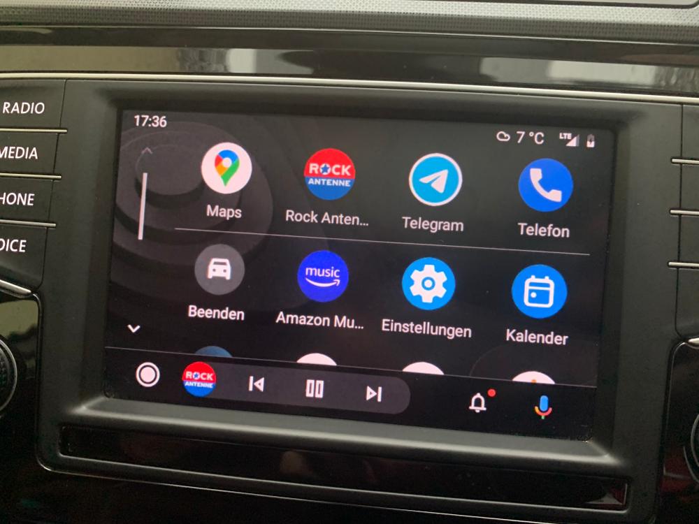Android Auto Passat B8