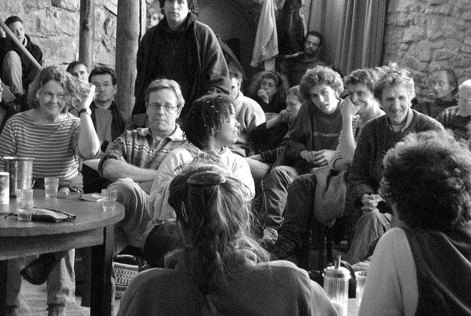 Diskussionstreffen in der Provence