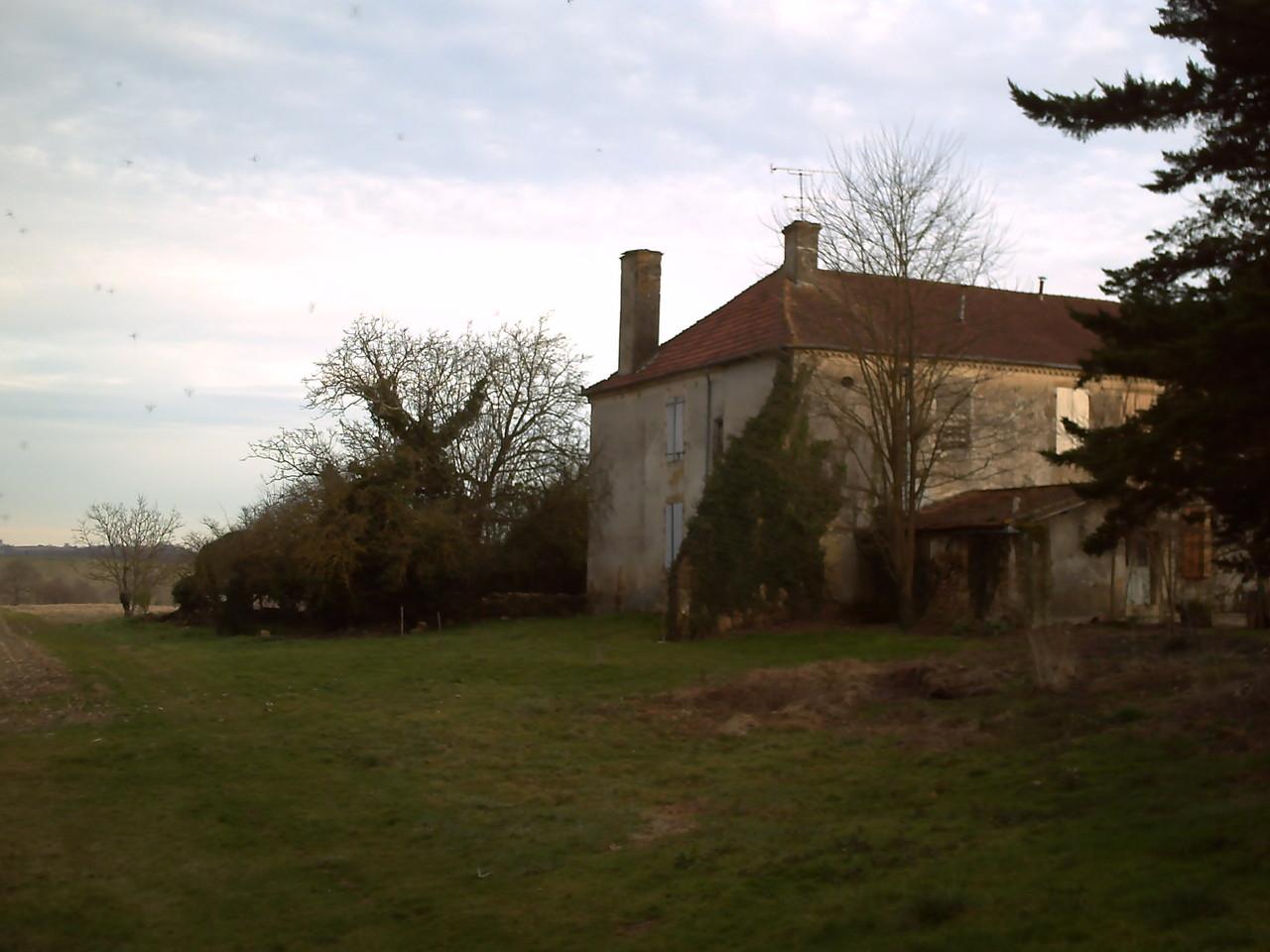 Le vieux Manoir côté Nord