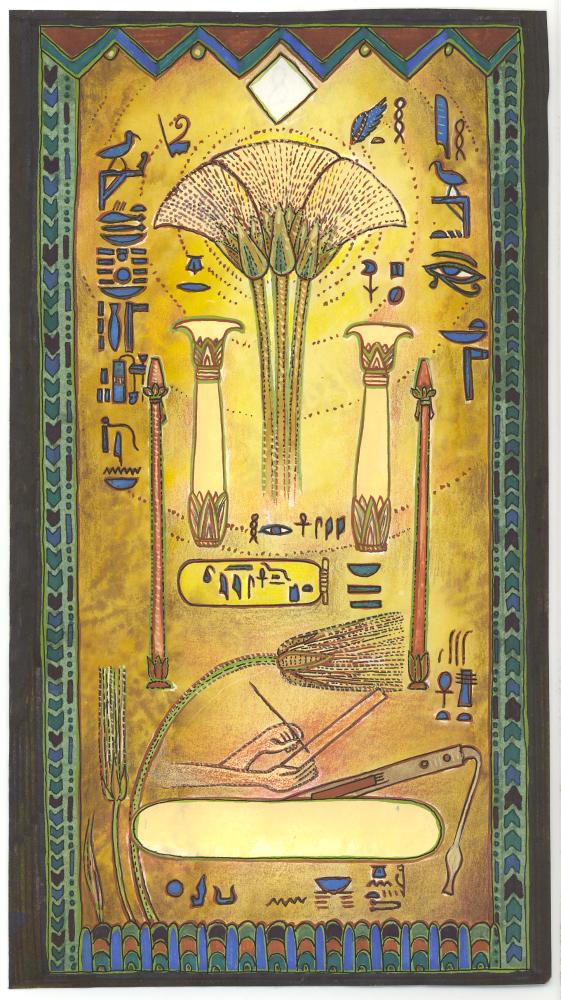 Oracle Egyptien, pour Femme Actuelle