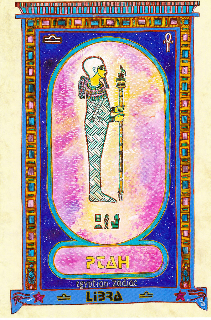 Zodiaque egyptien myrrha cr atrice peintre artiste de l 39 me et de la - Balance a l ancienne ...