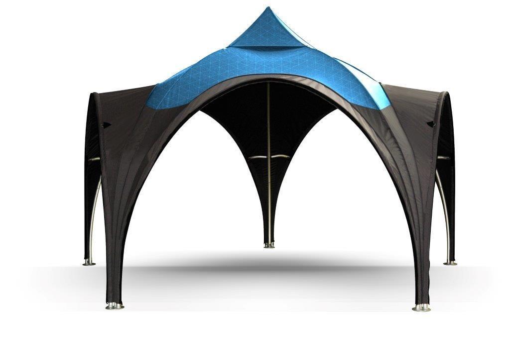 Messezelt Dome - das Designerzelt