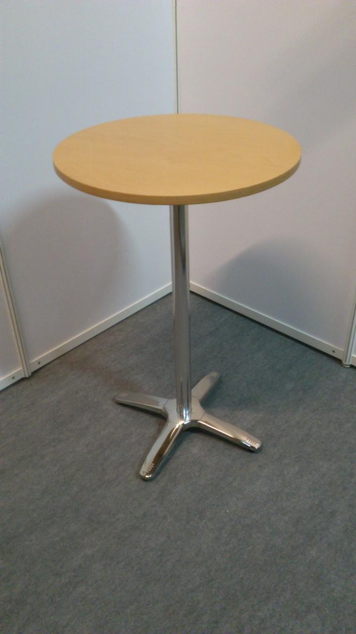 Stehtisch 4-Fuß, Oberplatte buche oder weiß D=70cm