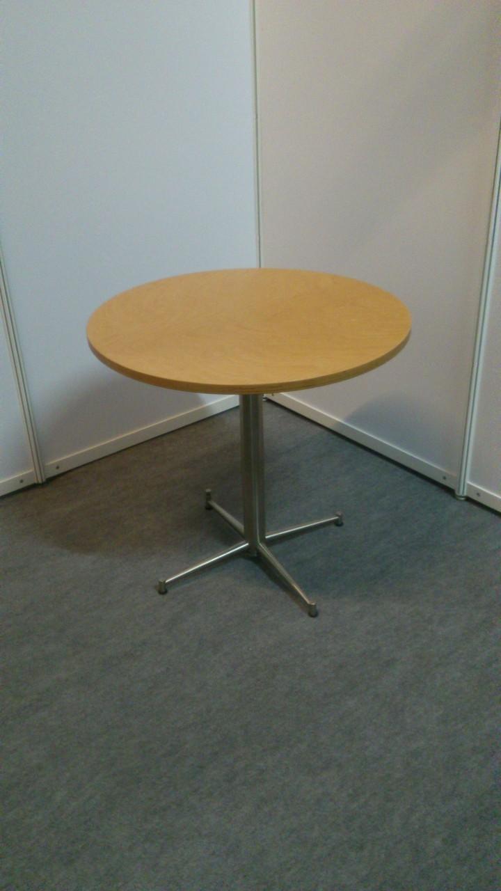 Tischgestell Lea, Oberplatte buche D=70cm oder 80cm