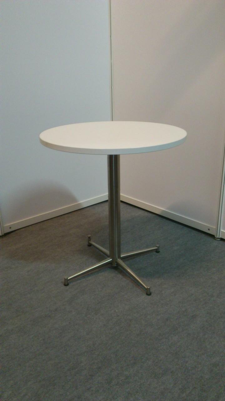 Tischgestell Lea, Oberplatte weiß D=70cm