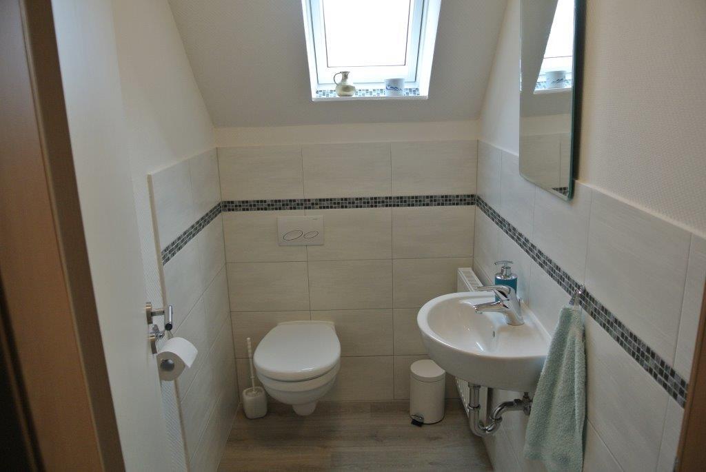 ... und ein separates WC.