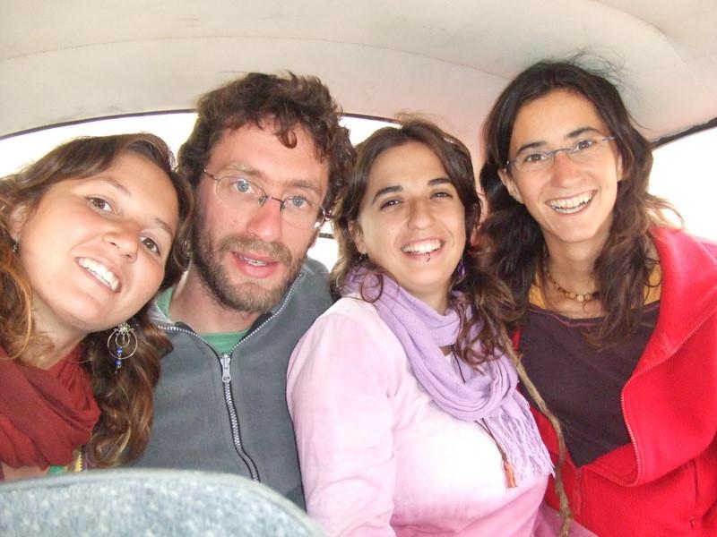 Els voluntaris d'ALCAIB inicien el viatge cap a Perú