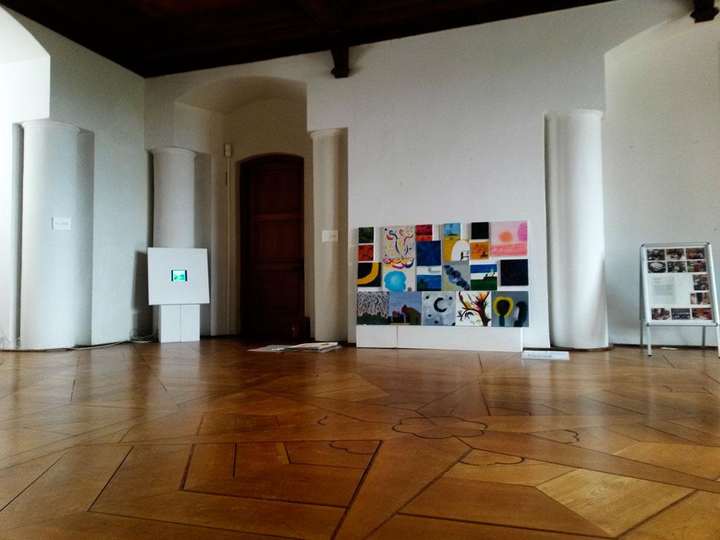 »Chaos im Malbüro« – Bild und Videodokumentation | Teilnahme an der Abschlussausstellung aller Projekte von »Künstler für Schüler 2016 « | 14.07.16 im Schloss Güstrow