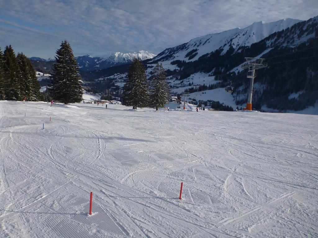 Familienskigebiet Hubertus-Parsenn - Skispass für die ganze Familie