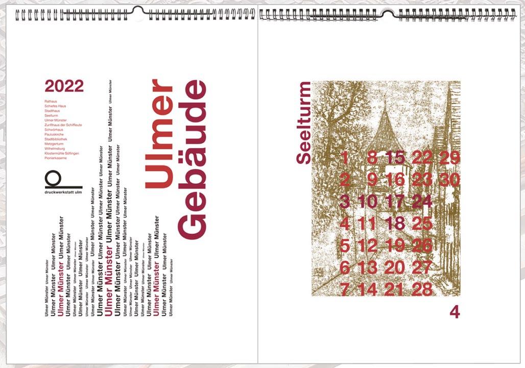 Neuer Kalender für 2022 – ab sofort erhältlich