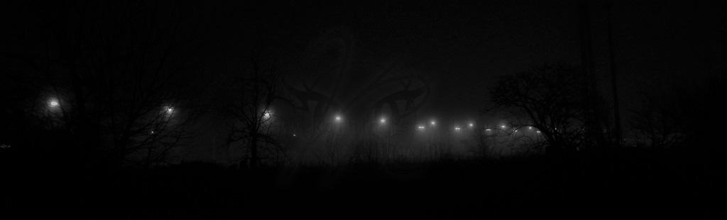 Schwebende Lichter