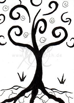 #034 Baum des Lebens - Schnörkel